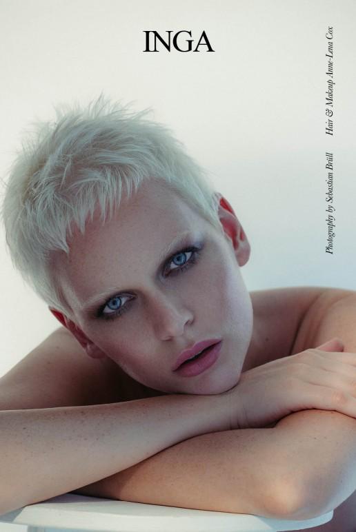 Inga Klaassen shot by Sebastian Brüll for Institute Magazine