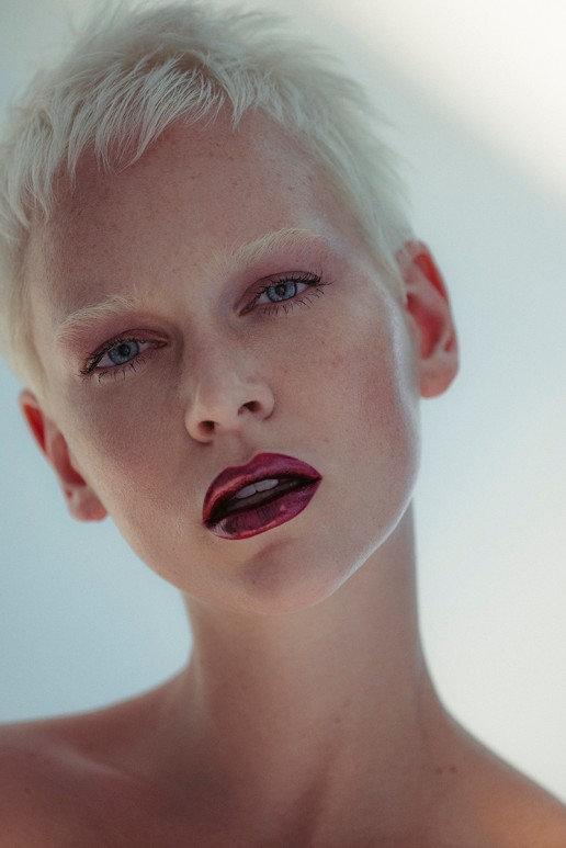 Inga Klaassen shot by Sebastian Brüll for Institute Magazine