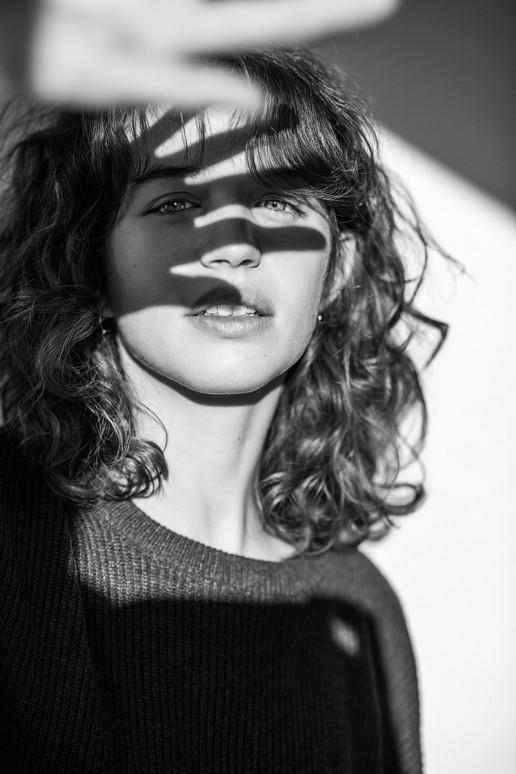 Jana photographed by Sebastian Brüll