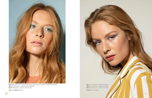 Beauty Editorial shot by Sebastian Brüll for Königsallee Magazine