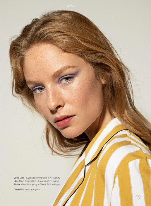 Beauty Editorial shot by Sebastian Brüll for Königsallee Magazine