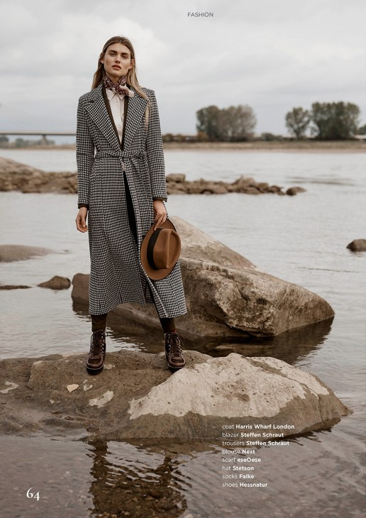 Fashion Editorial shot by Sebastian Brüll for Königsallee Magazine